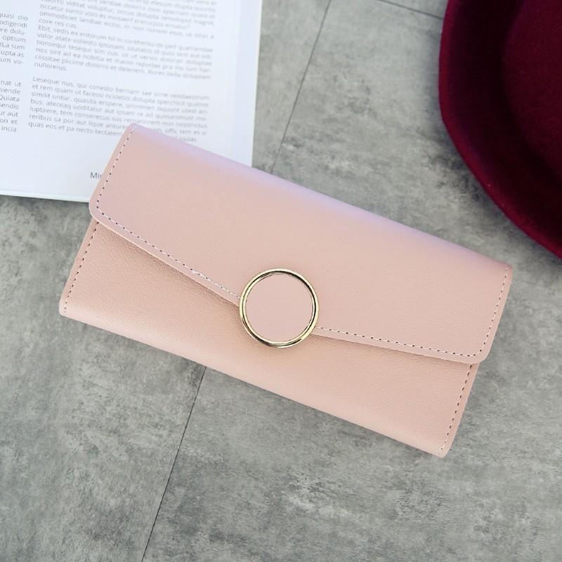 オールシーズンPU差込錠手持ち無地シンプル大容量ハンドバッグ・財布