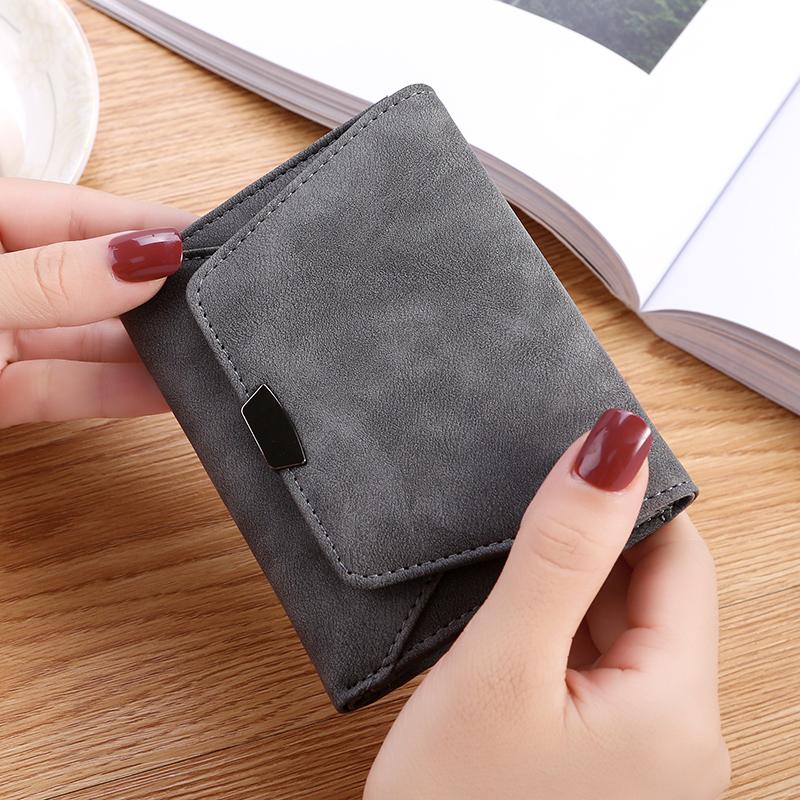 オールシーズンPUマグネット手持ち無地カジュアルシンプル切り替えハンドバッグ・財布