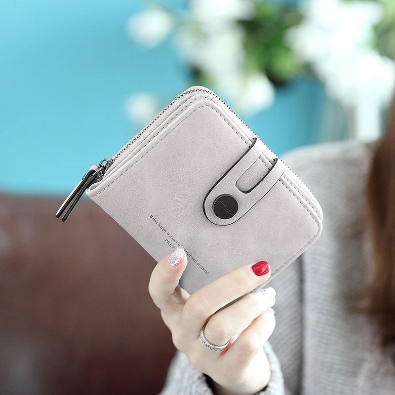 春秋PUホック手持ち無地カジュアルシンプルファッション大容量ハンドバッグ・財布