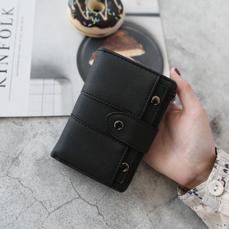 オールシーズンPUホック手持ち無地シンプルファッション切り替えハンドバッグ・財布