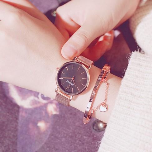 合金写真通り合金クォーツ時計その他配色縁取りラウンド耐水深度10Mファッションシンプル腕時計