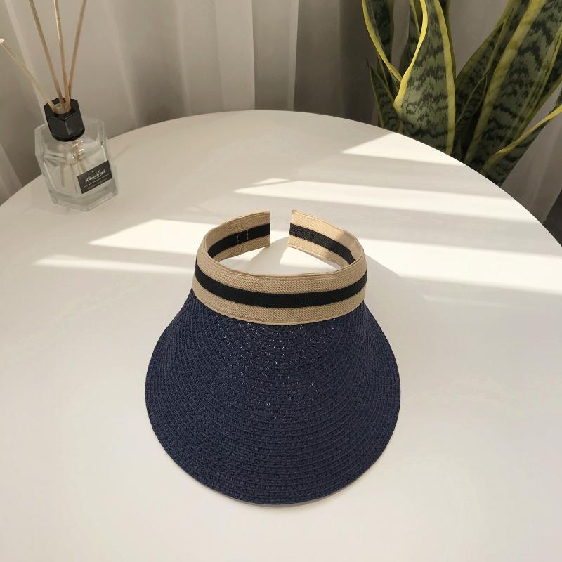 ダメージ加工透かし彫り草編みサークル帽子