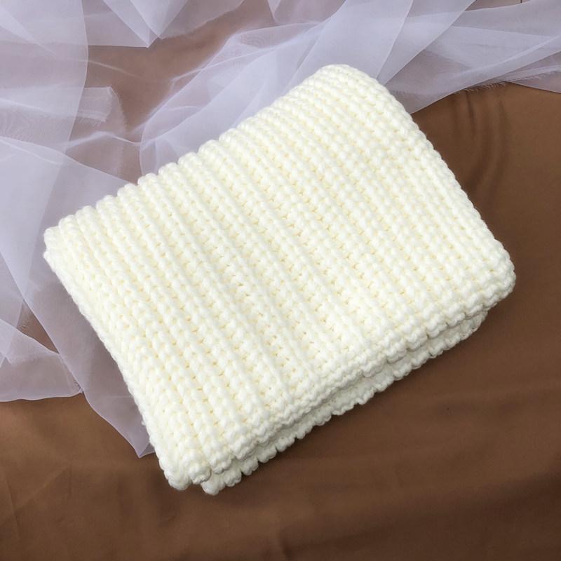 無地シンプルファッションレトロスウィート学園風スエード秋冬イエローベージュブラウングレーホワイトブラックレッドマフラー