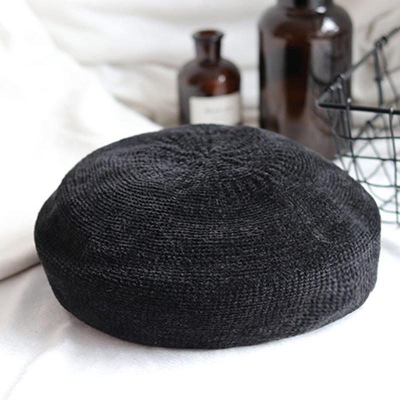 なしオールシーズンワインレッドカーキコーヒーグレーピンクブラックスエードスエード生地サークル帽子