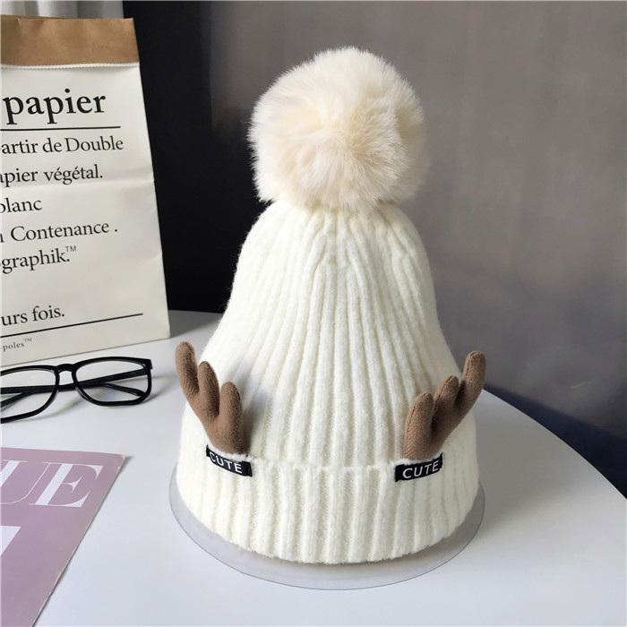 スエード秋冬写真通りタッセルスエードニットサークル帽子