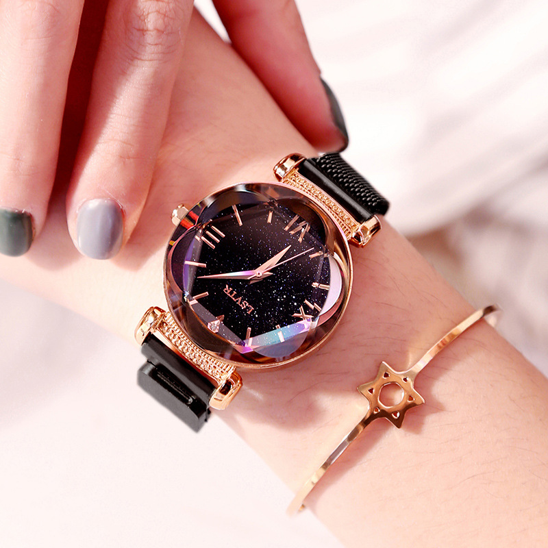 合金 ステンレス スチール 合金 クォーツ 時計 ダイヤモンド ラウンド 防水深度30m ファッション カジュアルシンプル 優雅 腕時計