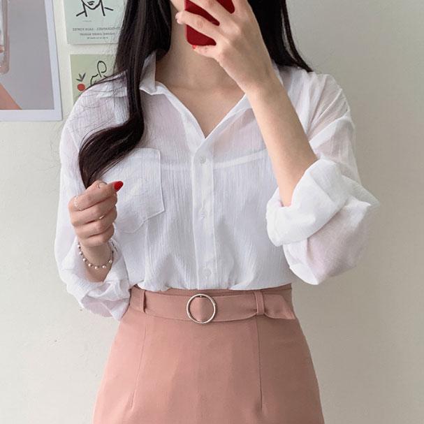 無地長袖通勤/OLスウィート韓国系フェミニン一般ボタン一般夏POLOネックシングルブレストカーディガン