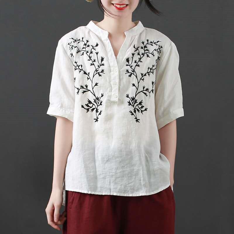 無地合成繊維半袖シンプル一般刺繍一般夏Vネックプルオーバーなしパーカー