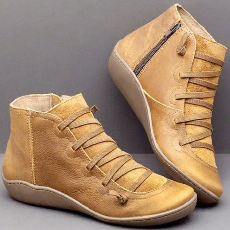 マーティンブーツ ブーティ ショートブーツ 短靴 春秋 レトロ 切り替え フラットヒール 丸トゥ ブーツ 痛くない 走れる 歩きやすい シューズ 美脚 疲れにくい ぺたんこ